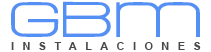 Instalaciones GBM - logo